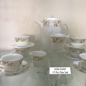 Juila Gold 17 Pcs Tea Set copy