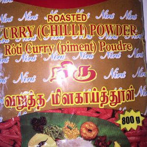 Niru roasted curry ( chili powder) 800g
