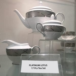 PLATINUM LOTUS 17 Pcs Tea Set copy