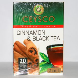 cinnamon and black tea