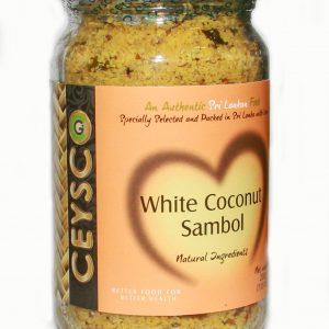 white coconut sambol